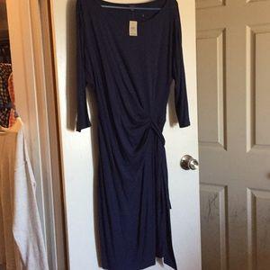 Ann Taylor new blue dress